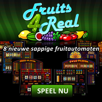 Fruits4Real gokkasten